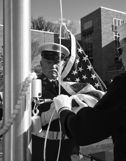 Flag Day Celebration, William G. White YMCA, January 8, 2011